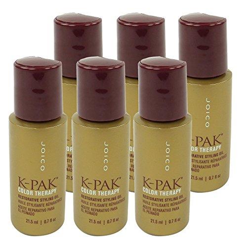 Joico K-PAK Color Therapy Restorative Styling Oil Haar Pflege Kur Öl 6x21.5ml