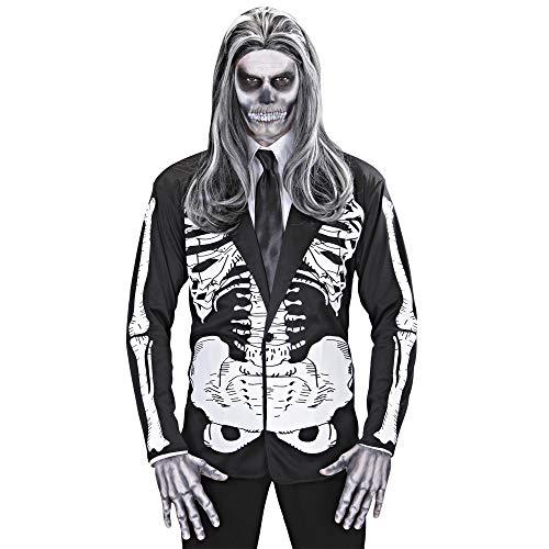 WIDMANN Widman - Disfraz de halloween esqueleto infantil, talla XL (S/1527K)