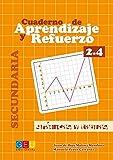 Cuaderno de aprendizaje y refuerzo 2.4 - Geometría / Editorial GEU/ 2º ESO/ Refuerza conceptos aprendidos / Ideal para trabajar gráficas y tablas