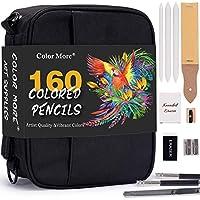160 Color Artist Colored Pencils Set for Coloring Books