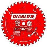 Diablo D0536X-10 5-3/8' x 36 Tooth Cordless Trim Saw Blade 10x