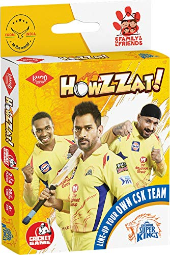 Kaadoo Howzzat!-CSK Cricket Card Game