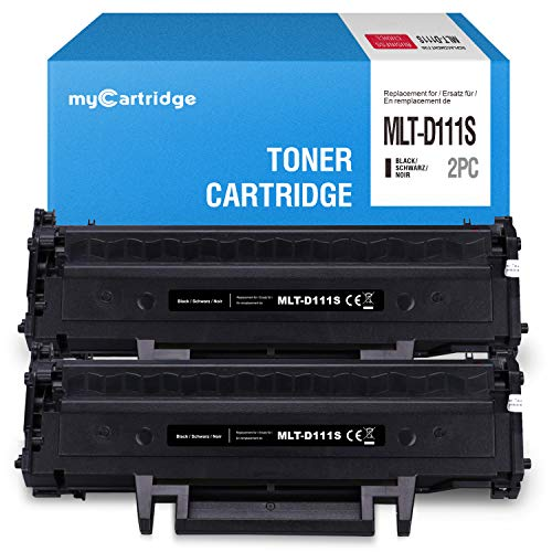 Toner MyCartridge compatibile con MLT D111S per Samsung Xpress M2070 M2020W M2022W M2026W M2070FW M2078W M2020 M2022 M2026 (nero)