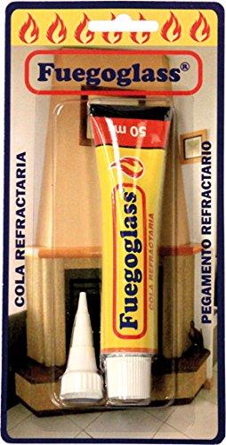 Fuegoglass B0243 - Pegamento Refractario B0243/244 Tubo50Ml