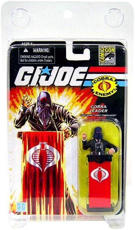G.I. Joe Cobra Leader Cobra Commander The Cobra Enemy - San Diego Comic Con Exclusive - Actionfigure 2008 von Hasbro