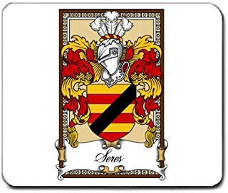 Seres Lord of Dundee Family Crest Coat of Arms Mouse Pad