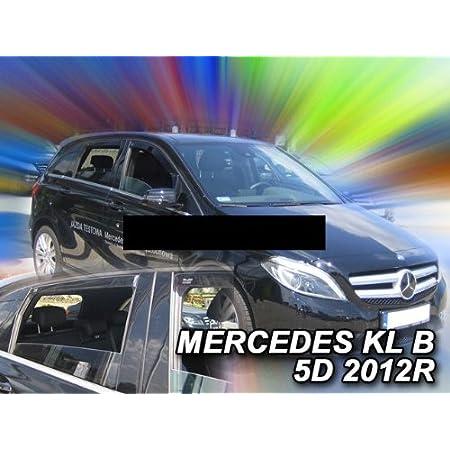 Climair Cls0033765d Windabweiser Schwarz Passend Für Mercedes B Klasse 5 Türer 2011 Auto