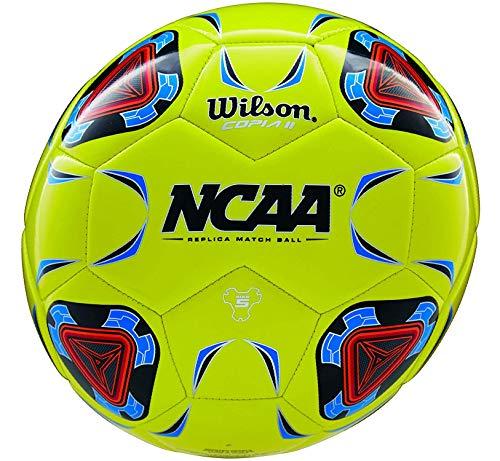 Wilson NCAA Copia II Soccer Ball, Optic Yellow - Size 4-New