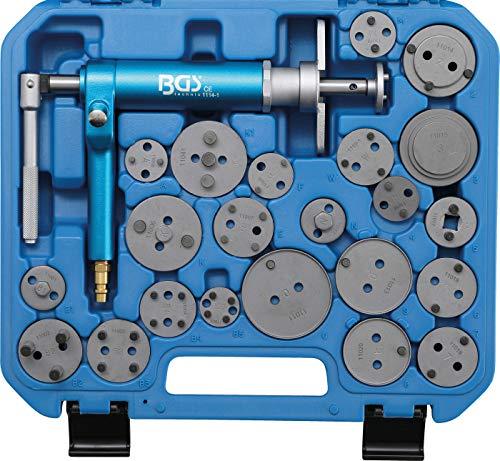 BGS 1114 | Bremskolben-Rückstell-Satz | 22-tlg. | pneumatisch | Bremskolbenrücksteller, Rücksteller, Kolbenrücksteller