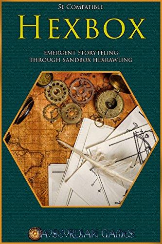 Hexbox: Emergent Storytelling through Sandbox Hexcrawling (English Edition)