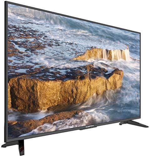 """Scepter 50"""" SmartTV U515CV-UMS Televisión Inteligente Led UHD 4K WiFi Facebook Netflix Youtube HB Hulu Y Muchas Aplicaciones más (Renovado)"""