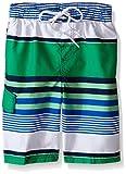 Kanu Surf Boys' Little Viper Quick Dry UPF 50+ Beach Swim Trunk, Optic Green, 5/6