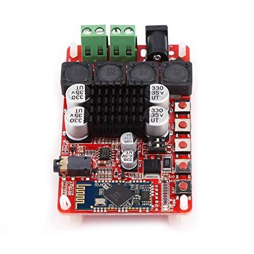 Placa de amplificador de audio Módulo de amplificador de potencia, Placa de amplificador de potencia, Receptor de audio digital integrado CSR8635 Bluetooth V4.0 para altavoz