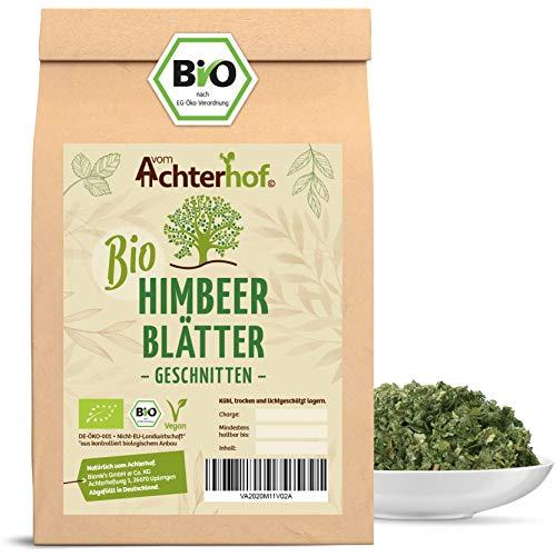 Himbeerblättertee BIO | 100g | 100% Bio Himbeerblätter Tee getrocknet ohne Zusätze | Schwangerschaft - Geburtsvorbereitung | vom Achterhof