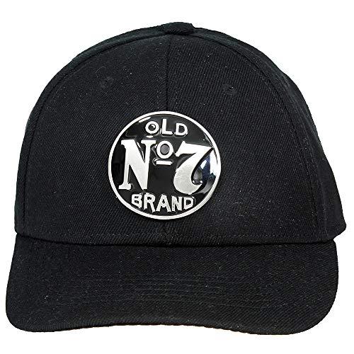 Jack Daniels Baseballcap No. 7 Logo schwarz