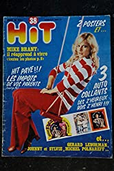 Hit Magazine 38 * 1975 mars * JOHNNY SYLVIE MIKE BRANT LENORMAN POLNAREFF