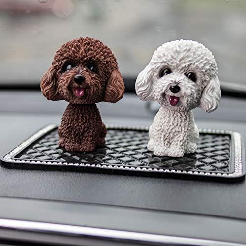 CKH auto decoratie schattig hars bloempot en hond auto decoratie creatieve huis decoratie cadeau