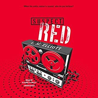 Suspect Red audiobook cover art