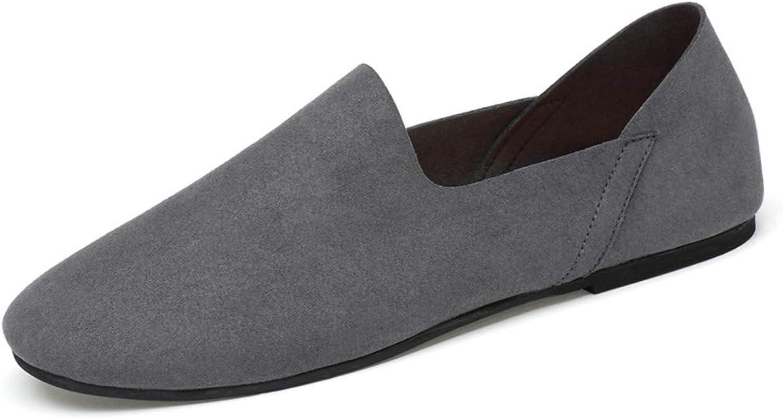 XSY2 Herrenschuhe Casual Comfort Slipper & Slip-Ons Flache Slipper Spring Comfort Lazy Schuhe Schwarz, Grau, Beige,B,39