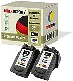 Pack de 2 XL TONER EXPERTE® Compatibles PG-510 CL-511 Cartuchos de Tinta para Canon Pixma iP2700, MP230, MP240, MP250, MP260, MP270, MP280, MP480, MP490, MP495, MP499, MX320, MX350 (Negro, Color)