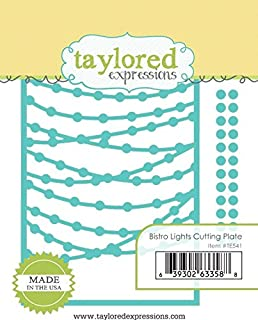 Taylored Expressions Bistro Lights Cutting Plate Steel Die Set (TE541)