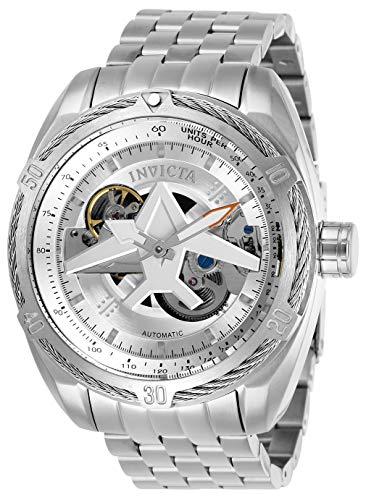 Invicta Herren Analog Automatik Uhr mit Edelstahl Armband 28213