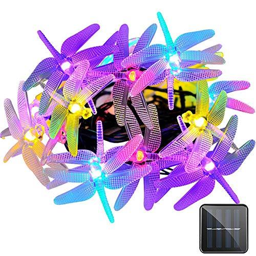 LIGHT Uping Guirlande Lumineuse,30 LEDs 6Mètres, en Forme de Fleur, Energy Solaire, Décoration Intérieur/Extérieur pour Jardin Maison Mariage Soirée Fête et Cérémonie(Multicolore)