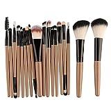 NOBRAND Presente Herramienta de Belleza Maquiagem Cepillo de Cepillo del Maquillaje Completo 6/15 / 18Pcs Maquillaje Sombra de Ojos en Polvo fundación líquida se ruborizan Maquillaje híbrido