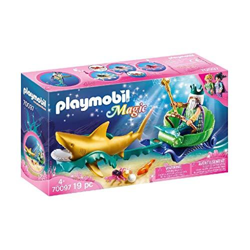 Playmobil: Magic Rey del Mar con Carruaje