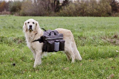 Karlie 31370 Authentic Dog Sport Alforjas Grande Incluida una Botella