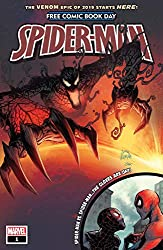 Image: Free Comic Book Day 2019 (Spider-Man/Venom) #1 | Kindle and comiXology | by Donny Cates (Author), Tom Taylor (Author), Saladin Ahmed (Author), Ryan Stegman (Cover Art, Artist), Cory Smith (Artist). Publication Date: May 8, 2019
