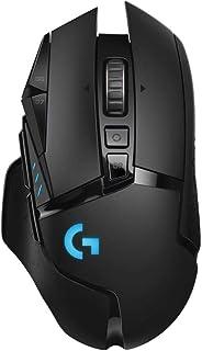 Mouse Gamer Sem Fio Logitech G502 LIGHTSPEED com HERO 16K, RGB LIGHTSYNC, Ajuste de Peso, 11 Botóes Programáveis, Compatív...