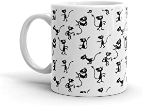 The world of Luci. 11 Oz Ceramic Coffee Mug Also Makes A Great Tea Cup With Its Large, Easy to Grip C-handle. 11 Oz Fine C...