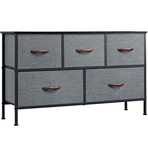 5 Drawer Dresser Organizer Fabric Storage Chest Now $55.79