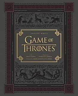 Inside HBO's Game of Thrones: Seasons 1 & 2 (Game of Thrones Book, Book about HBO Series)