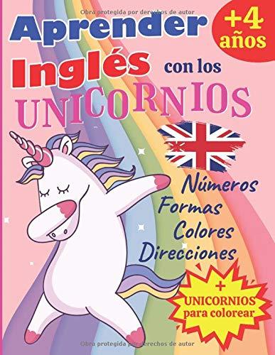 Aprender Inglés Unicornios: A partir 4 años: Aprender