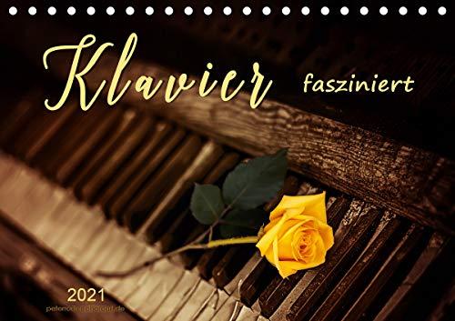Klavier fasziniert (Tischkalender 2021 DIN A5 quer)