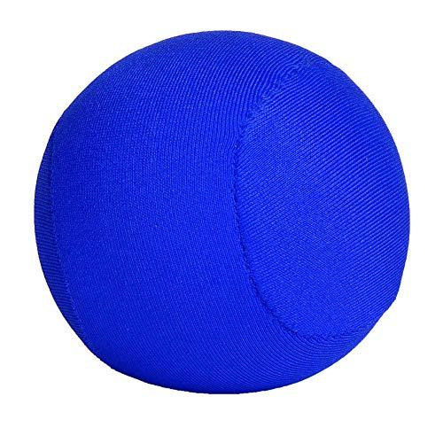 FEBT Bola Reforzada con empuñadura portátil, Bola de Agarre Saludable, recuperación elástica para Trabajadores de Cuello Blanco Senior(Blue, 12)