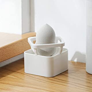 Makeup Sponge Holder, Momo Casier Madeup Powder Puff Sponge Holder Cosmetic Tool Drying Race Egg Powder Puff Display Stand Beauty Sponge Organzier