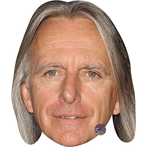 Celebrity Cutouts Scott Hicks (Smile) Maske aus Karton