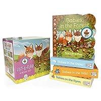 Babies in The: Babies in the Wild / Babies in the Snow / Babies on the Farm / Babies in the Forest (Chunky Lift a Flap)