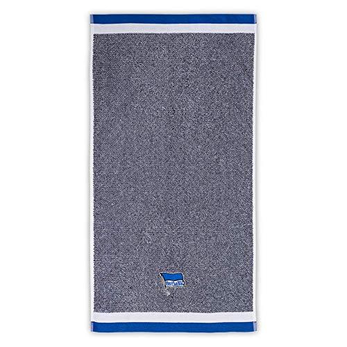 Hertha BSC Berlin Handtuch, Duschtuch Strandtuch (Duschtuch 70x140cm, blau Melange)