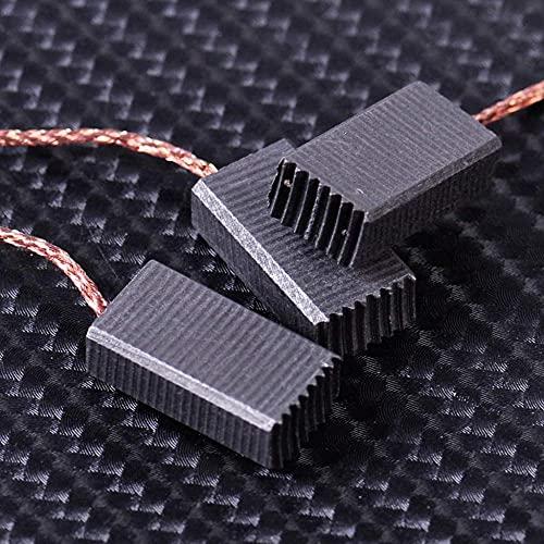 KANGNING 10pcs Cepillos de Carbono Capacidad de reemplazo para Bosch GWS 580 GWS 850 C GWS 7-115 GWS 8-125 GWS 9-150CS GWS6-100 D11 WEL