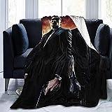 Eileen Powell de Dusk Till Dawn Ultra-Soft Micro Fleece Blanket for Bed Car Camp Couch Fall Plush Throw Blanket 50 'x40'
