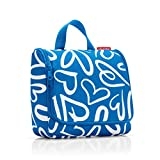 Reisenthel Toiletbag Bolsa de Aseo, 23 cm, 3 Liters, Azul (Funky Hearts)