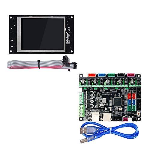 BZ 3D MKS SGen L V1.0 32bit Controller-Platine Uart/SPI Kompatibel mit Marlin2.0 Smoothieware +MKS TFT32 V4.0 Support TFT24/28/35 (Board+MKS TFT32)