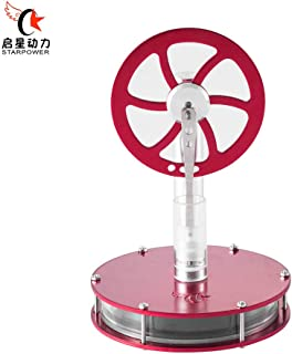 STARPOWER Low Temperature Stirling Engine Motor Model Steam Heat Experiment Educational Toy Fully Assembled