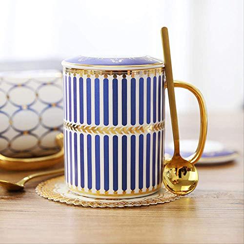 Keramische mok met grote inhoud, kop, beker van keramiek, koffiekopje, kopje, kopje, kopje, kopje, kopje, kopje, kopje, kopje, kopje, kopje, koffiekopje, koffiekopje, koffiekopje, koffiekopje, koffiekopje, koffiekopje, inhoud 301-400 ml, blauw