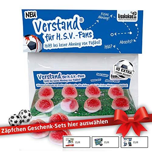 HSV Geschenk Set ist jetzt VERSTAND für Hamburg-Fans   Fruchtgummi-Pralinen, hochdosiert   Für Schalke, Bayern & Fußball-Fans, denen der Verstand von HSV-Fans am Herzen liegt