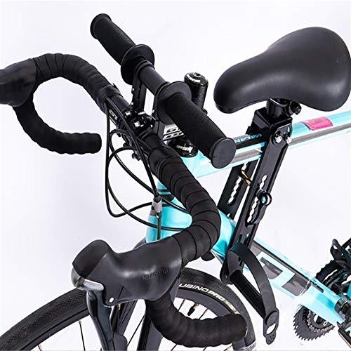 Asiento de Bicicleta para Niños y Manillar Silla de Asiento de Bicicleta de Montaña para Niño Bebé Desmontable de Montaje Frontal, Compatible con Todas Las Bicicletas de Montaña, Diseño Seguro